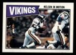 1987 Topps #198   Vikings Leaders Front Thumbnail
