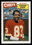 1987 Topps #162  Stephone Paige  Front Thumbnail