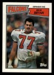 1987 Topps #257  Rick Bryan  Front Thumbnail