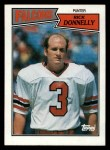 1987 Topps #254  Rick Donnelly  Front Thumbnail