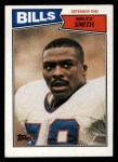 1987 Topps #369  Bruce Smith  Front Thumbnail