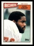 1987 Topps #391  David Logan  Front Thumbnail