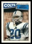 1987 Topps #376  Albert Bentley  Front Thumbnail