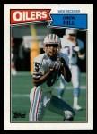 1987 Topps #309  Drew Hill  Front Thumbnail