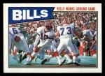 1987 Topps #361   Bills Leaders Front Thumbnail