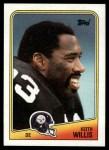 1988 Topps #170  Keith Willis  Front Thumbnail