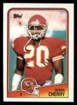 1988 Topps #371  Deron Cherry  Front Thumbnail