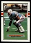 1989 Topps #105  Allen Pinkett  Front Thumbnail