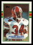 1989 Topps #340  Robert Moore  Front Thumbnail