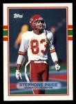 1989 Topps #359  Stephone Paige  Front Thumbnail