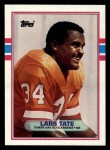 1989 Topps #330  Lars Tate  Front Thumbnail