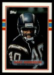 1989 Topps #306   -  Gary Anderson Record Breaker Front Thumbnail