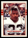 1989 Topps #375  Keith Woodside  Front Thumbnail