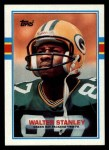1989 Topps #381  Walter Stanley  Front Thumbnail