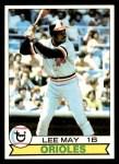 1979 Topps #10  Lee May  Front Thumbnail