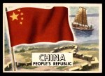 1956 Topps Flags of the World #32   China (Peoples Republic) Front Thumbnail