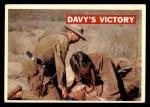 1956 Topps Davy Crockett #48   Davy's Victory  Front Thumbnail