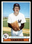 1979 Topps #670  Catfish Hunter  Front Thumbnail