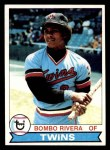 1979 Topps #449  Bombo Rivera  Front Thumbnail