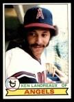 1979 Topps #619  Ken Landreaux  Front Thumbnail