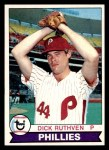 1979 Topps #419  Dick Ruthven  Front Thumbnail