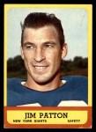 1963 Topps #58  Jim Patton  Front Thumbnail