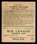 1933 Goudey #102  Travis 'Stonewall' Jackson   Back Thumbnail