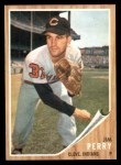 1962 Topps #405  Jim Perry  Front Thumbnail