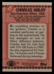 1990 Topps #17  Charles Haley  Back Thumbnail