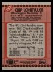 1990 Topps #137  Chip Lohmiller  Back Thumbnail