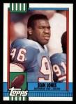 1990 Topps #222  Sean Jones  Front Thumbnail