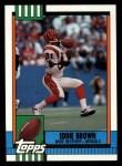 1990 Topps #272  Eddie Brown  Front Thumbnail