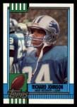 1990 Topps #350  Richard Johnson  Front Thumbnail