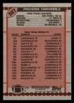 1990 Topps #507   Cardinals Highlights Back Thumbnail