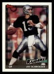 1991 Topps #96  Jay Schroeder  Front Thumbnail