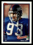 1991 Topps #26  Mike Fox  Front Thumbnail