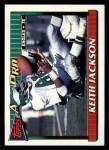 1991 Topps #220  Keith Jackson  Front Thumbnail