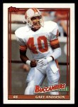 1991 Topps #482   -  Gary Anderson Record Breaker Front Thumbnail