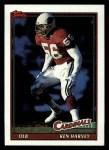 1991 Topps #518  Ken Harvey  Front Thumbnail