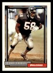 1992 Topps #92  Jessie Tuggle  Front Thumbnail