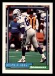 1992 Topps #337  Brian Blades  Front Thumbnail