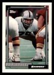 1992 Topps #478  Bob Golic  Front Thumbnail