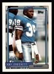 1992 Topps #616  Ray Crockett  Front Thumbnail