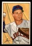 1952 Bowman #187  Jim Hegan  Front Thumbnail