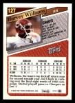 1993 Topps #127  Harvey Williams  Back Thumbnail