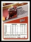 1993 Topps #73  Christian Okoye  Back Thumbnail