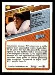 1993 Topps #49  Keith Kartz  Back Thumbnail