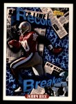 1993 Topps #2   -  Jerry Rice Record Breaker Front Thumbnail