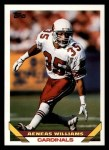 1993 Topps #67  Aeneas Williams  Front Thumbnail