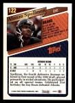 1993 Topps #122  Alonzo Spellman  Back Thumbnail